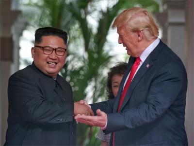 Trump-Kim summit bigger than N Korea's