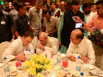 Opposition unity and Rahul's iftar party