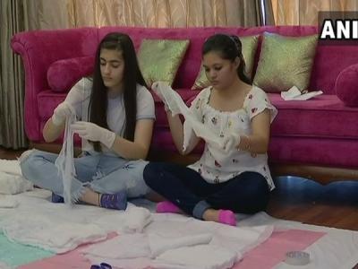 Chandigarh girls start hygiene campaign