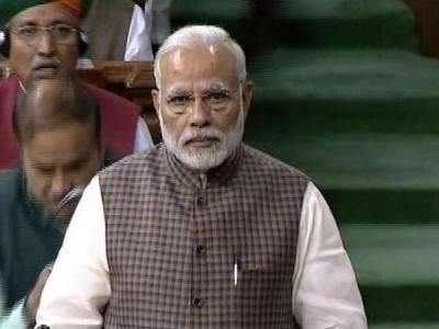 Modi rebukes Rahul for Rafale allegation