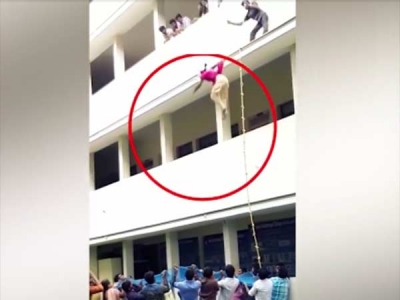 Student falls from 2nd floor and dies