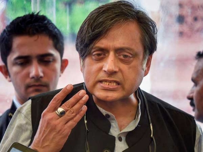 Tharoor criticises PM for 'silence'
