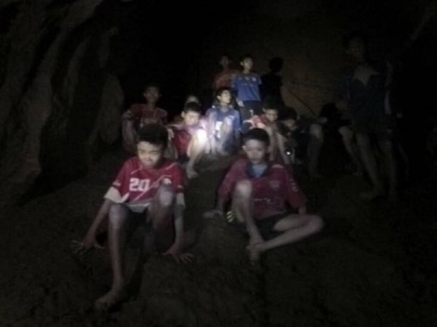 Boys meant to stay 1 hour in cave, but floods trapped them