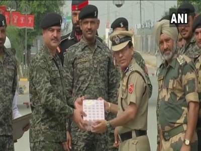 BSF, Pakistan Rangers share sweets