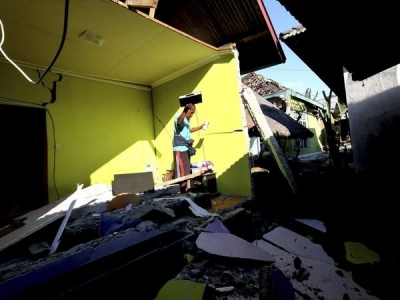 Second earthquake hits Indonesia