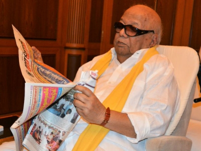 Karunanidhi: Age did not wither