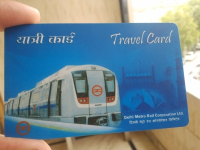 Metro card valid for travel in DTC buses