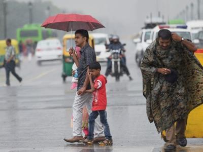 Rains in Delhi to reduce