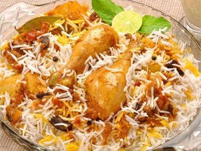 Man has biryani before losing stomach!