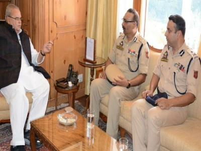 J&K DGP takes stock of security situatio