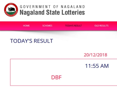 Nagaland Lotteries today results: Check LIVE Now, winning