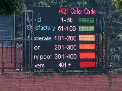 93% residents don't know what AQI means