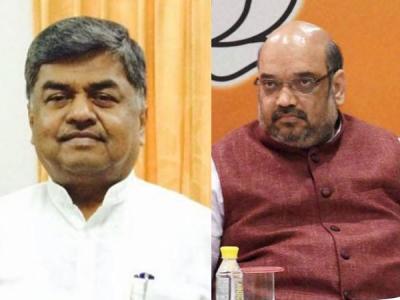 Congress MP Hariprasad mocks Shah