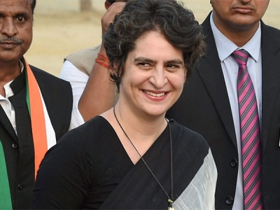 Priyanka Gandhi enters active politics