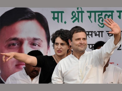 Priyanka Gandhi in politics