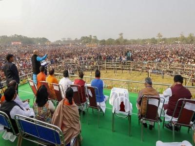 WB govt grants permission to BJP
