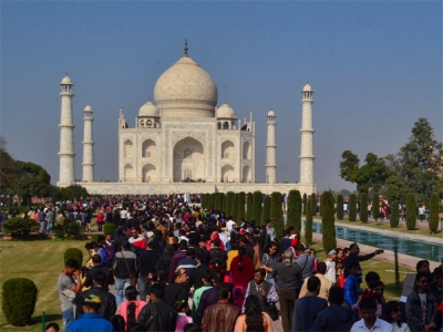 Chinese tourists prefer India less?