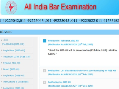 AIB XIII (13) 2019 result confirmed