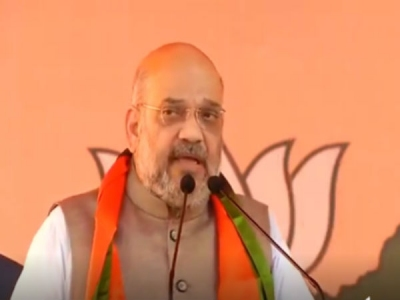 Shah accuses Cong of using Pulwama