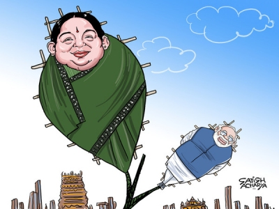 Amma's boys join hands with BJP