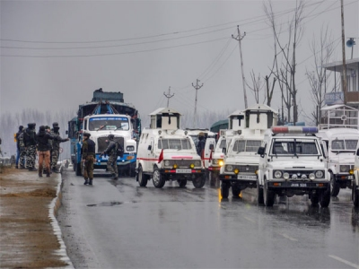 Convoy movement to continue by road with