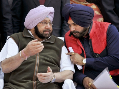 Oratory alright, but Sidhu has a thing or two to learn from his Captain
