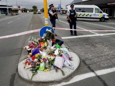 Australian police search homes