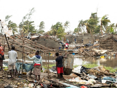 Cyclone devastates 90% of Mozambique's