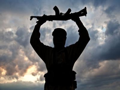 13,000 terrorists held in restive