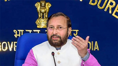 Prakash Javadekar attacks Congress