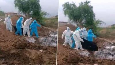 DK Shivakumar shares video of dumping
