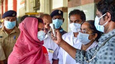 Door-to-door health survey in Delhi's CO