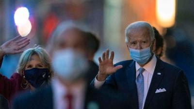 Joe Biden speaks with UN chief
