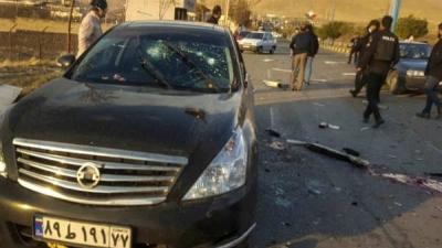 Iran's top nuclear scientist, assassinat