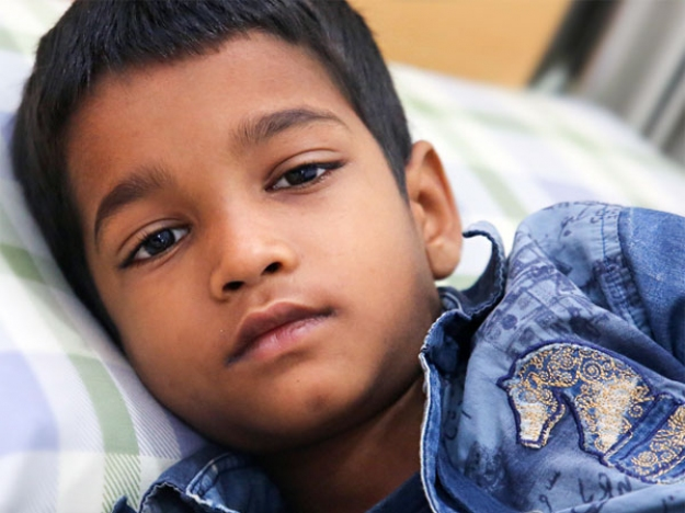 8-year-old Tuhir Needs Your Help To Treat Kidney Tumour