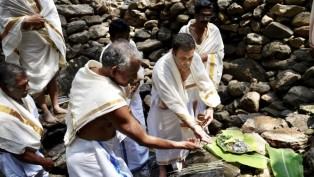 Congress President Rahul Gandhi Offers Prayers At Thirunelli Temple Ahead Of Lok Sabha Elections