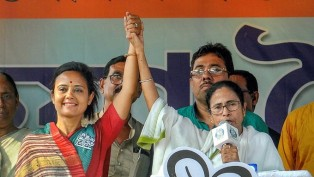 WB CM And TMC Supremo Mamata Banerjee Addresses An Election Rally In Support Of The Party Candidate