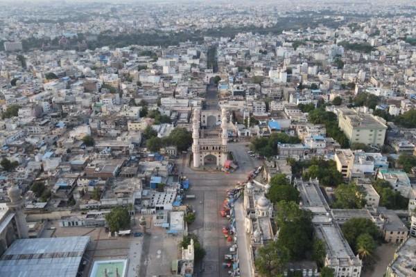 హైదరాబాదులో లాక్డౌన్ దృశ్యాలు