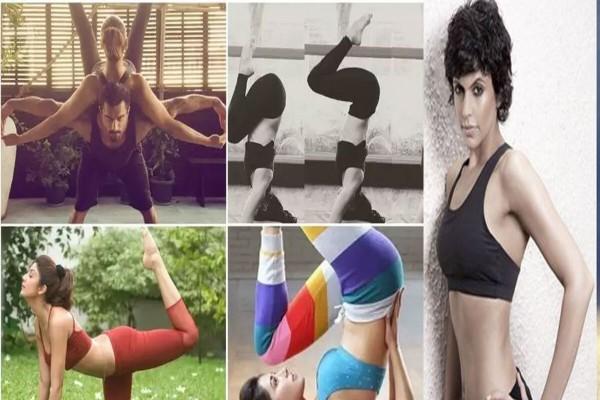 शिल्पा शेट्टी से लेकर मलाइका तक इन बॉलीवुड सेलेब्स का Hot Yoga देखकर छूट जाएगा आपका पसीना