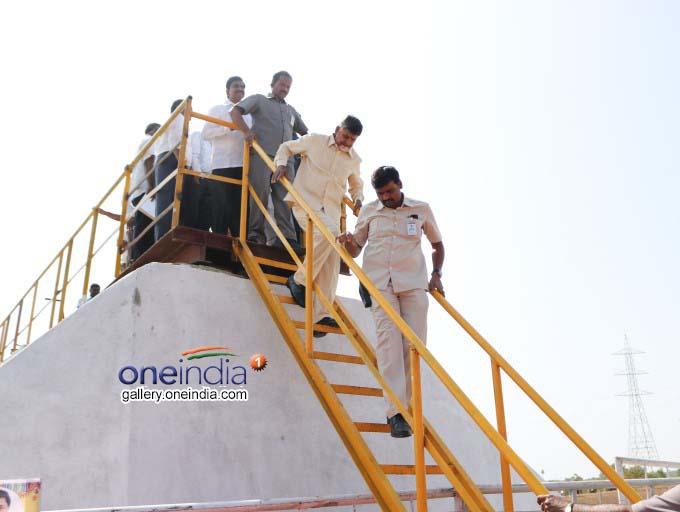 AP CM Chandrababu Naidu Inaugurates Muchumarri Lift Irrigation Project