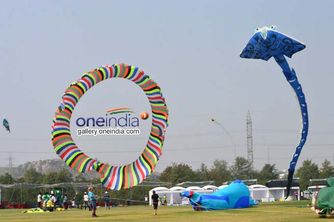 International Kite Festival In Hyderabad