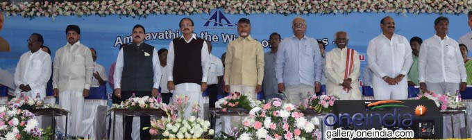AP CM N Chandrababu Naidu Inaugurates New Terminal At Vijayawada Airport