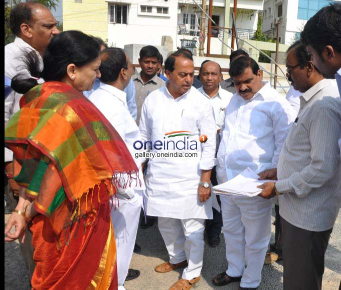 Telangana Cabinet Sub-Committee Visit Housing Project Ventures
