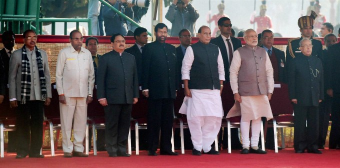 President Of Kenya Visits India