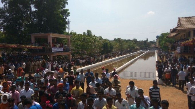 Protest In Favor Of Kambala In Mangaluru