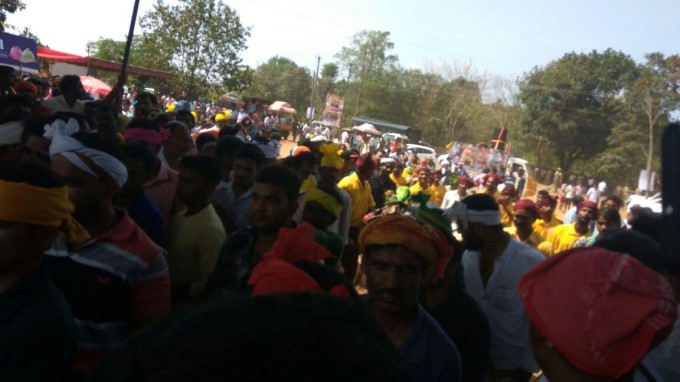 Protest In Favor Of Kambala In Mangaluru