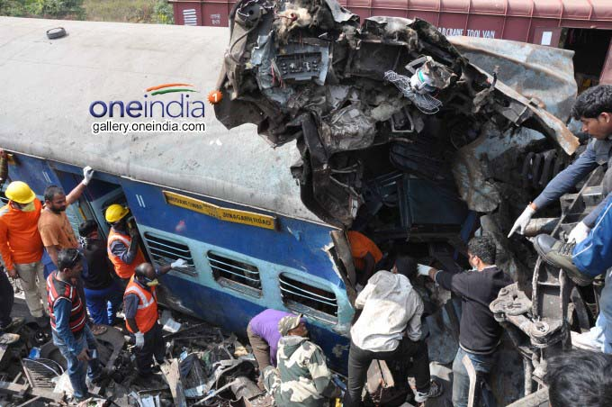 Hirakhand Express Accident