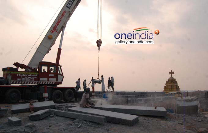 Yadadri Temple Construction Works In Telangana