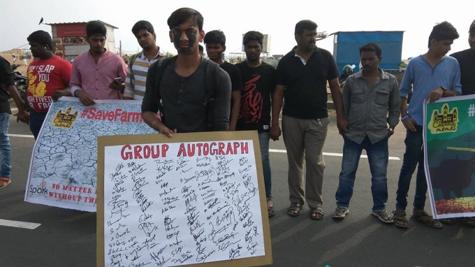 Tamils Stage Continuous Protests In Support Of Jallikattu