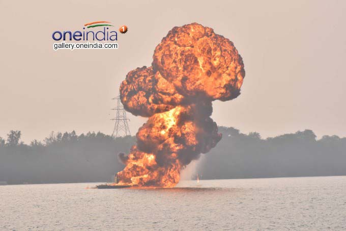 Navy Show At Punnami Ghat In Vijayawada